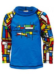 Funky Trunks Mod Prime Toddler Boys Sleeved Rash Shirt