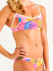 Zealous Candy Carnival Girls Sports Bikini