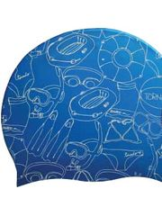 Tornado Summertime Blue Swim Cap