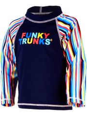 Funky Trunks Ocean Liner Toddler Sleeved Rash Shirt - Boys 3