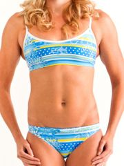 Zealous Honey Dew Ladies Sports Bikini