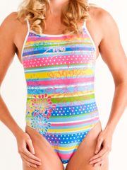 Zealous Ditzy Daisy Ladies One Piece